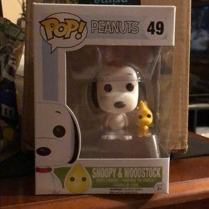 Snoopy and Woodstock Peanuts Funko Pop 49